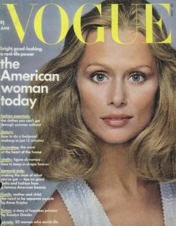 Lauren Hutton : 26 couvertures pour Vogue !