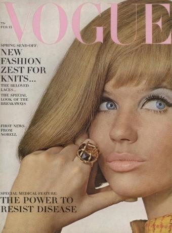 Veruschka : 12 couvertures pour Vogue !