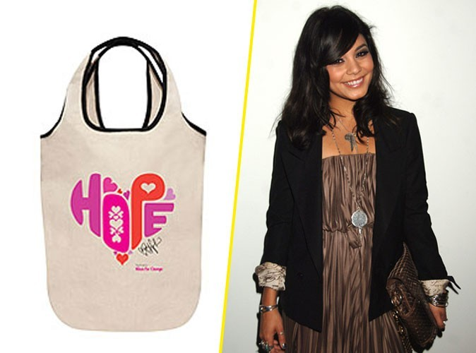 "Le sac de Vanessa Hudgens pour la campagne Neutrogena ""Wave for change"" !"