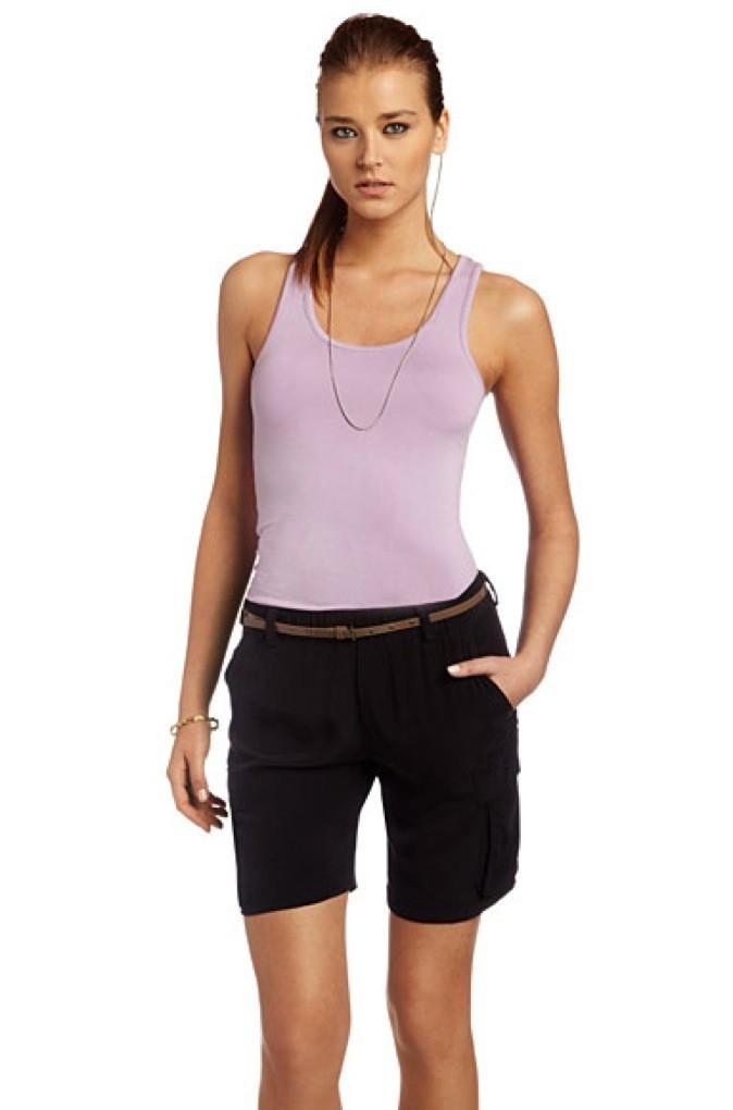 Collection printemps-été 2011 Heidi Klum pour New Balance : un top parme