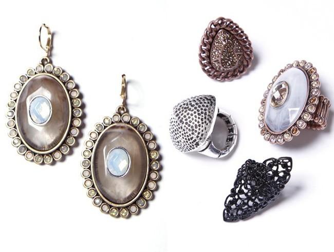 Les bagues et boucles d'oreilles de la collection Wildlife by Heidi Klum !