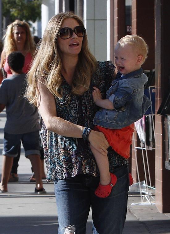 Rebecca Gayheart et sa fille