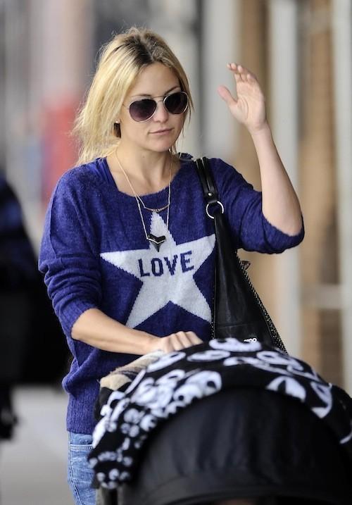 Kate Hudson, le 17 avril 2013