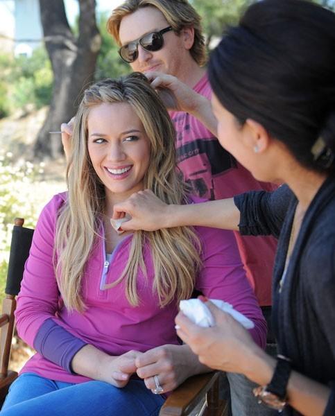 Les coulisses de la campagne Danskin avec Hilary Duff !