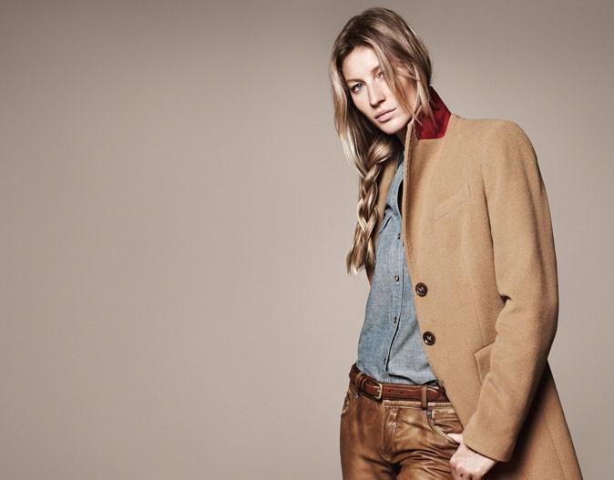 Gisele Bündchen représente la collection Iconic Styles par Esprit !
