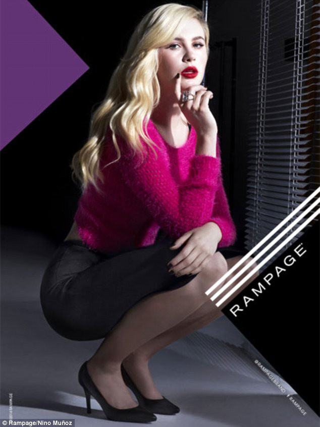Ireland Baldwin pour Rampage, collection Automne-Hiver 2014/2015