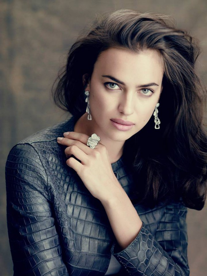 Irina Shayk : la girlfriend de Cristiano Ronaldo égérie d'une marque de luxe qatarienne !