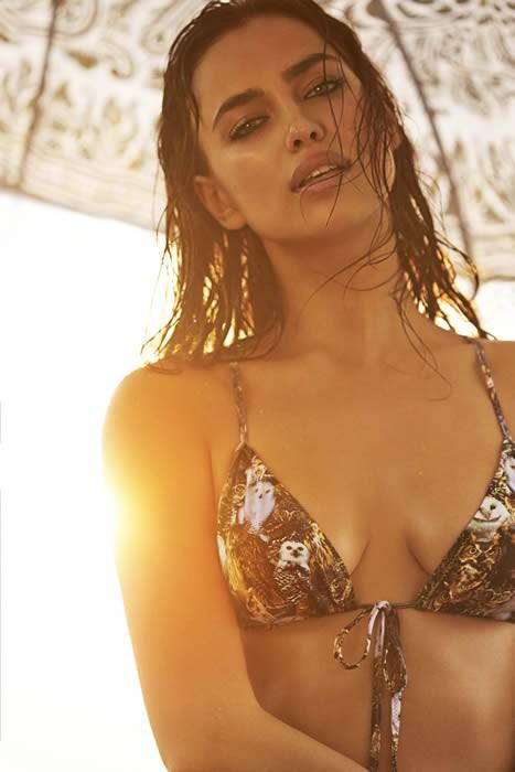 Irina Shayk pour Colombian