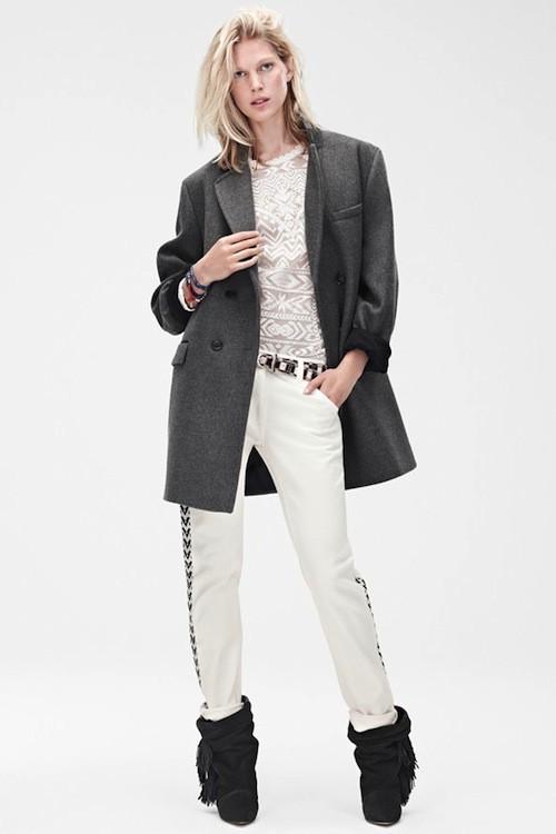 Blouson, £99.99 (environ 119 euros); Jean, £59.99 (environ 71 euros); top, £59.99(environ 71 euros); boots, £149.99 (environ 178 euros)