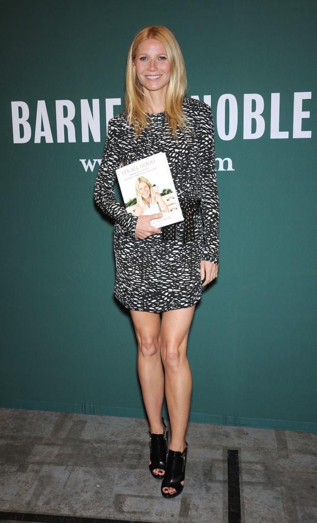 Gwyneth Paltrow et sa robe Isabel Marant