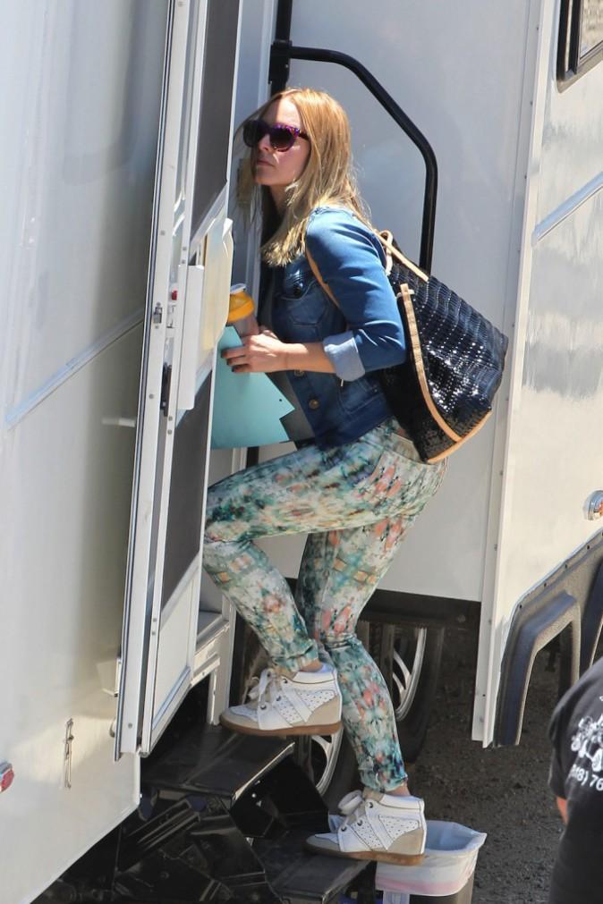 Kristen Bell et ses chaussures Isabel Marant