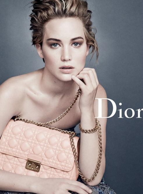 Mode : Jennifer Lawrence : élégante et magnétique pour la nouvelle campagne Dior !
