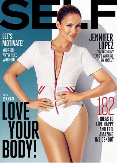 Mode : Jennifer Lopez : une cover-girl sexy et musclée pour Self Magazine ! !