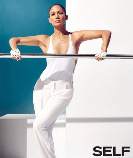 Mode : Jennifer Lopez : une cover-girl sexy et musclée pour Self Magazine !