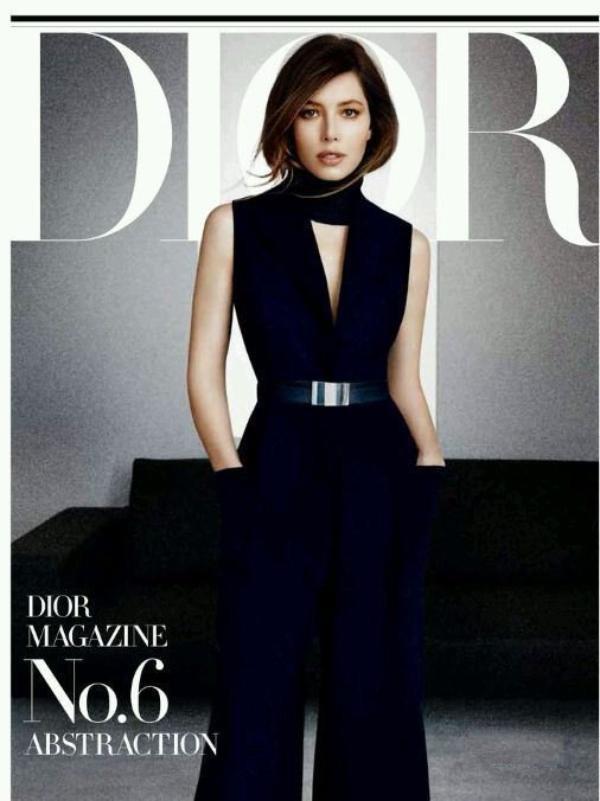 Mode : Jessica Biel : élégante dans son shooting pour le magazine Dior !