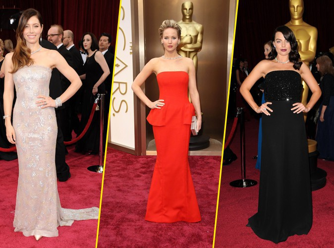 Mode : Jessica Biel, Jennifer Lawrence, Margot Robbie... : découvrez le top 9 des looks les plus chers aux Oscars 2014 !