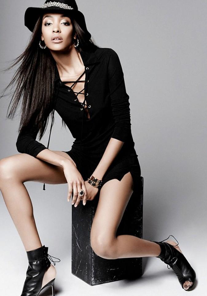 Mode : Jourdan Dunn : une beauté sauvage et féline pour Juicy Couture !