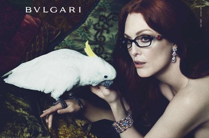 En 2009, sensuelle pour la campagne Bulgari…