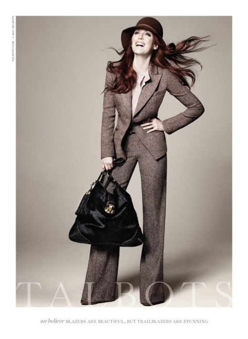 Julianne Moore pour la collection automne/hiver 2011/2012 de Talbot!
