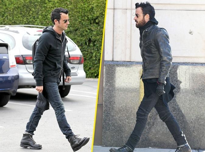 """Mode : Justin Theroux :  """"Je me sens nu sans mes jeans et mes boots !"""""""