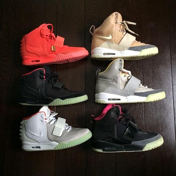 La collection de M. Pokora des Air Yeezy de Kanye West !