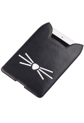 Pochette pour tablette de la collection Karl Lagerfeld inspirée de Choupette