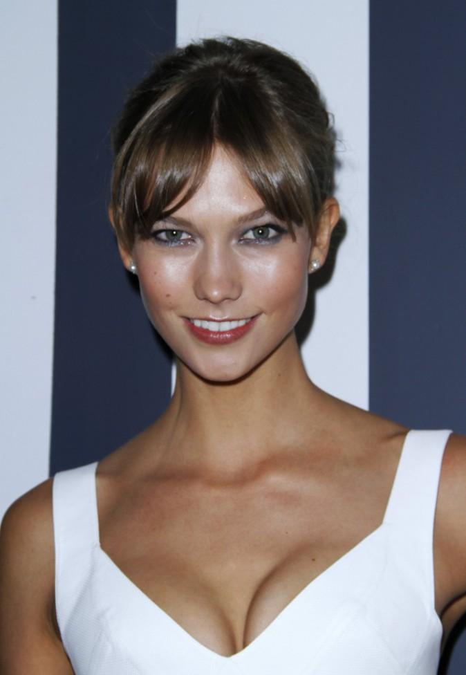 Karlie Kloss à la soirée des Fashion Media Awards