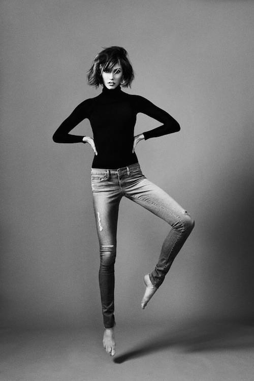 Karlie Kloss : Styliste d'une collection capsule de jeans dédiées aux femmes aux longues jambes !