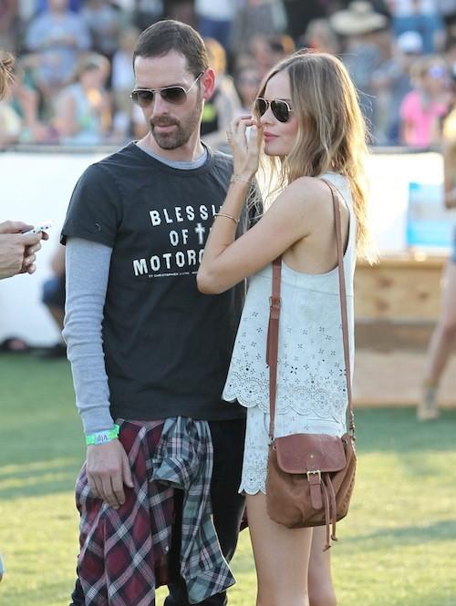 Kate Bosworth a battu le pavé à Coachella vêtue de ses créations Topshop !
