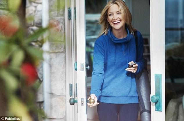 Mode : Kate Hudson nous gâte en dévoilant sa prochaine collection ainsi que ses conseils fitness !