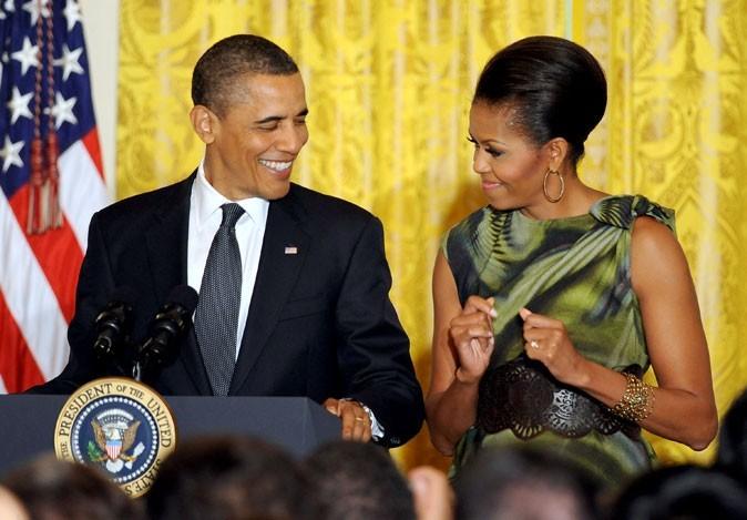 Le couple Obama fait partie de la Best Dressed List 2011 de Vanity Fair !
