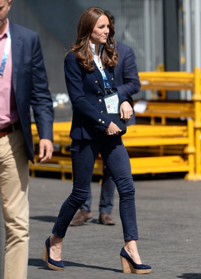 Kate Middleton le 28 juillet 2014