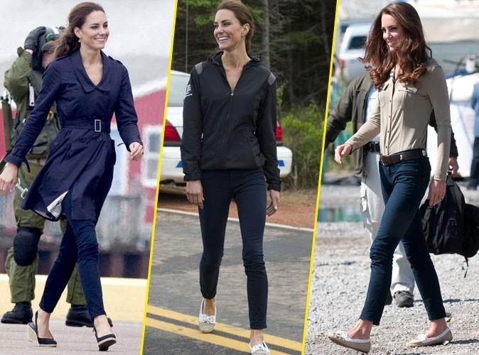 Mode : Kate Middleton ne quitte plus son jean J Brand !