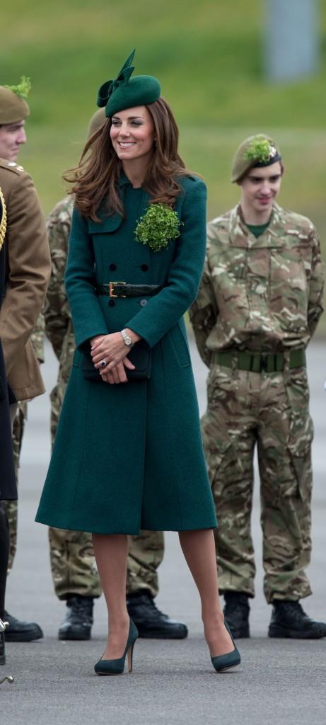 Kate Middleton pour la Saint-Patrick 2014 !