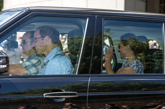 Kate Middleton porte la robe Blossom de Seraphine