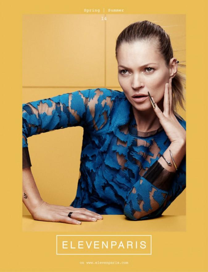 Mode : Kate Moss : elle est la nouvelle égérie d'Eleven Paris !