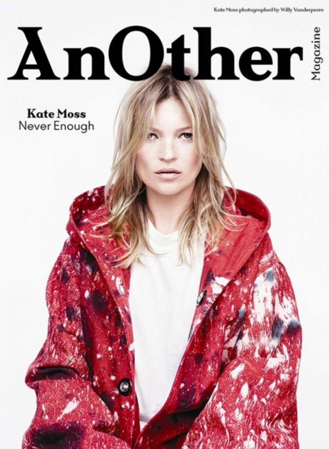 Kate Moss pour AnOther