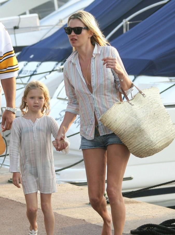 Kate Moss, sa fille la préfère sans maquillage !