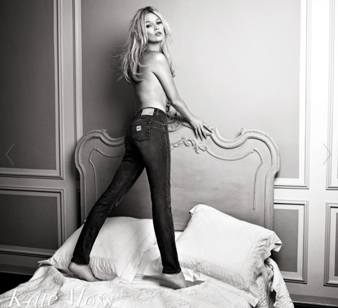 Kate Moss pour la collection prlntemps-été 2012 de Liu Jo
