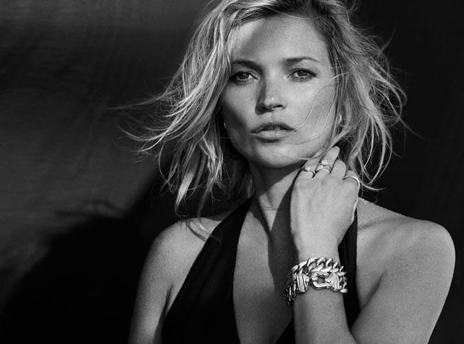Mode : Kate Moss : elle détrône Gisèle Bündchen et Kate Upton pour David Yurman !