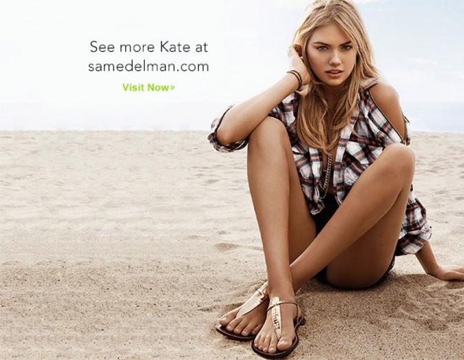 Mode : Kate Upton : égérie so hot pour la campagne printemps-été de Sam Edelman !