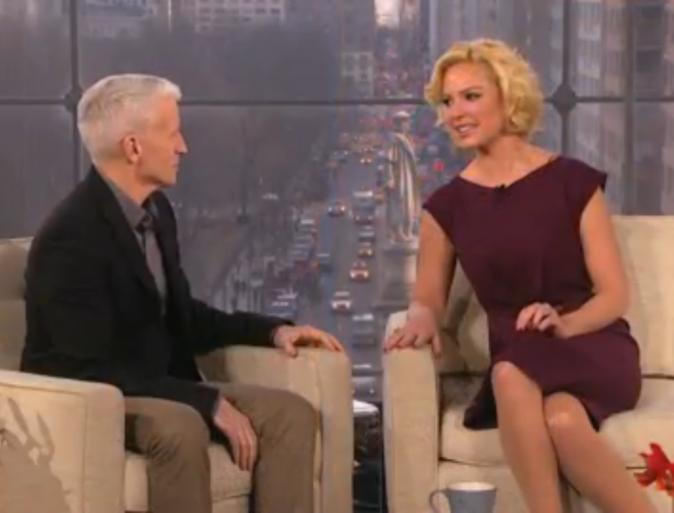Katherine Heigl au talk-show d'Anderson Cooper