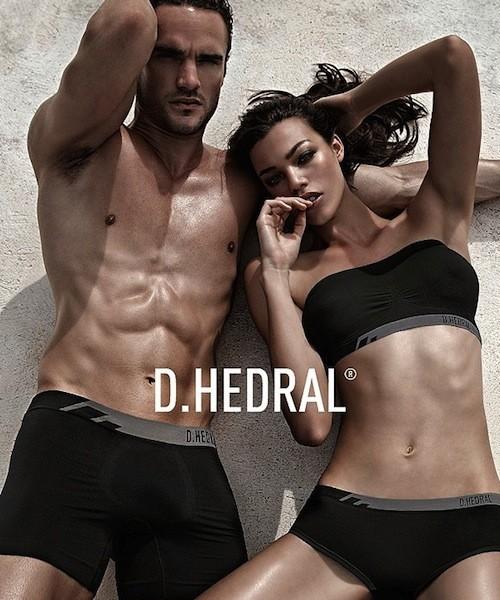 Thom Evans, modèle sexy pour les sous-vêtements D. Hedral !