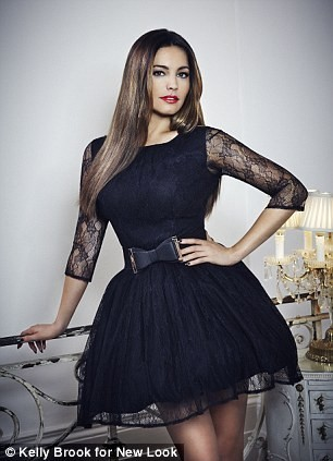 Kelly Brook x New Look, collection automne/hiver 2012-2013