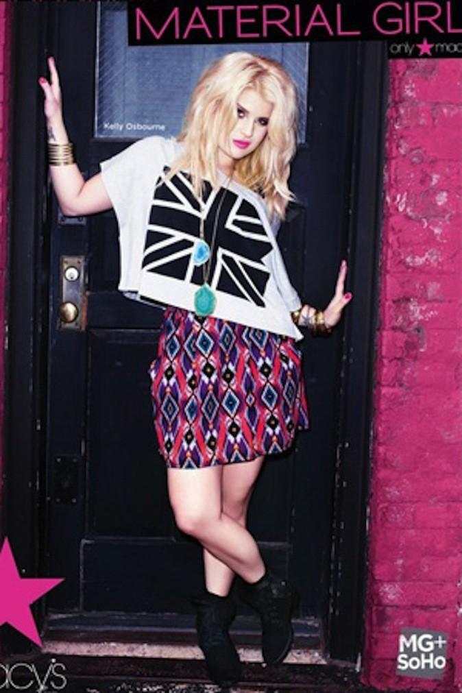 Le drapeau anglais revisité pour la brit-girl !