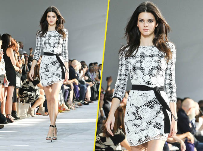 Kendall Jenner pour Diane Von Furstenberg le 7 septembre 2014