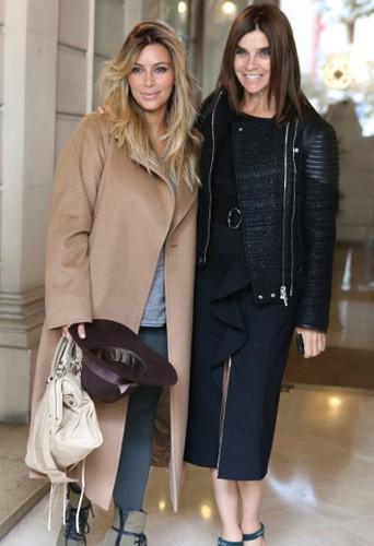 Kim Kardashian, proche de Carine Roitfeld ?