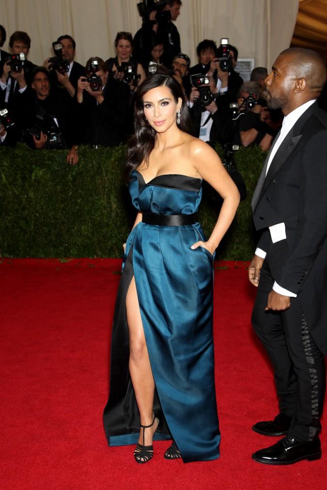 Le look de Kim lors du Met Ball