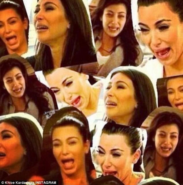 Le montage de Khloe Kardashian