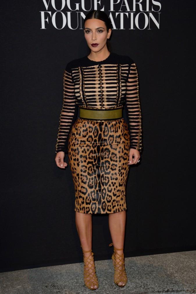 Mode : Kim Kardashian : sa fashion fixette du moment ? Une paire de chaussures signée Hermès !